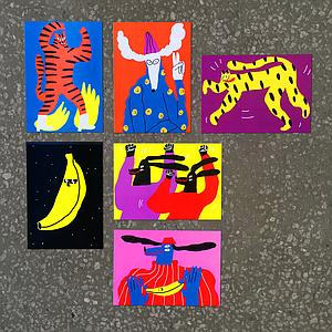 Wild Beasts Card Set